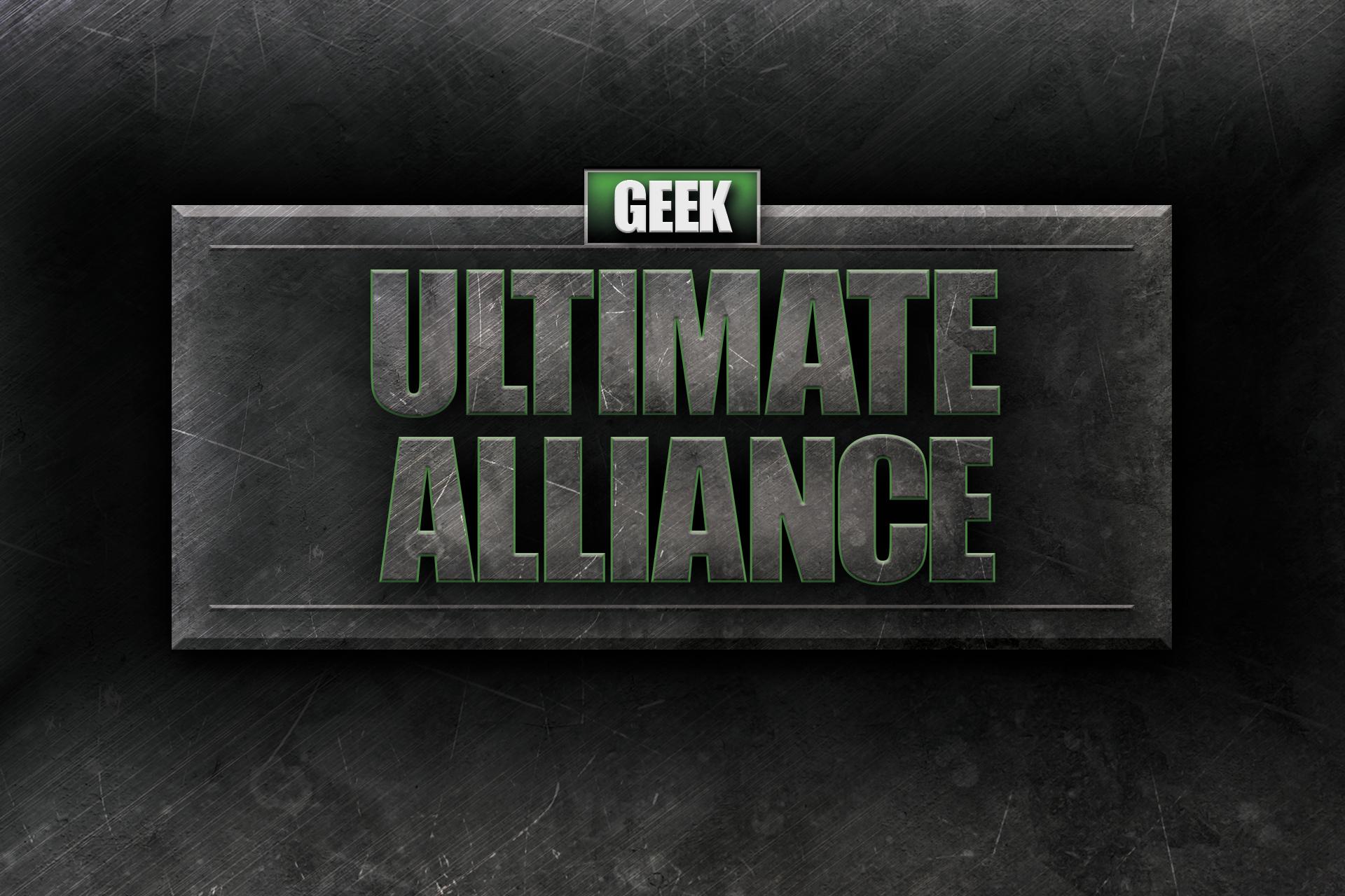 geek ultimate alliance